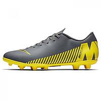 976f8d7e Бутсы Nike Mercurial Vapor Club FG DkGrey/Yellow - Оригинал