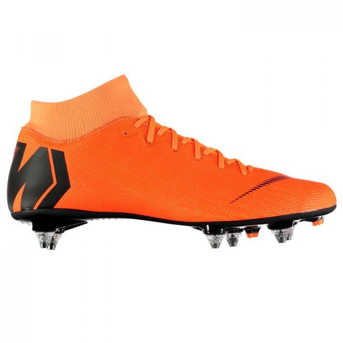 18be2a42 Бутсы Nike Mercurial Superfly Academy SG Orange/Black - Оригинал — в ...