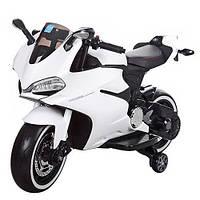 Мотоцикл детский на аккумуляторе Bambi M 3467EL-1 купить оптом и в розницу со склада в Одессе 7 км