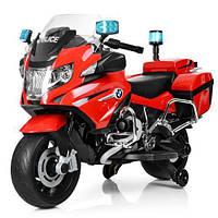 Мотоцикл детский на аккумуляторе BMW Z212-3 полиция купить оптом и в розницу со склада в Одессе 7 км