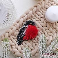 """Набор для вышивки бисером украшения """"Снегирь"""", фото 1"""
