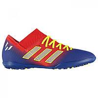 Сороконожки adidas Nemeziz Messi 18.3 Red Silver Blue - Оригинал 9cb17ae69e727