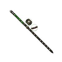 Ошейник 14 мм украшенный с подкладкой