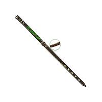 Ошейник 14 мм с кожаной подкладкой