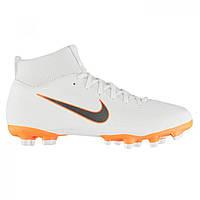 Бутсы Nike Mercurial Superfly Academy DF FG White ChrOrange - Оригинал 32ca629844084