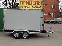 Прицеп Сантей 2500-01 двухосный с тормозами, фото 1