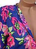 Женские блузы с цветочным принтом 42-46, фото 5