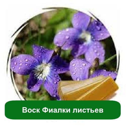 Воск Фиалки листьев, 10 грамм