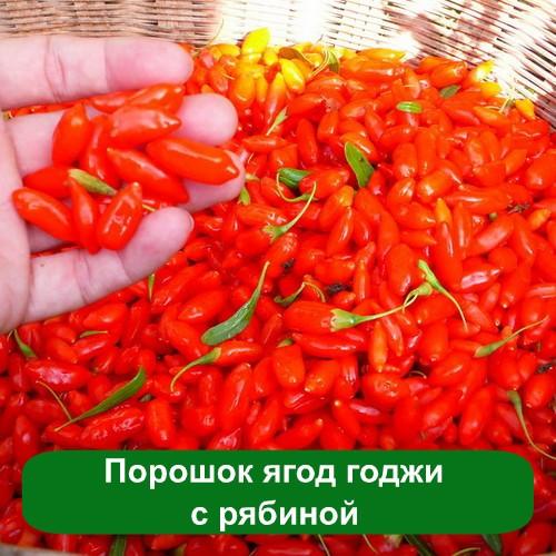 Порошок ягод годжи с рябиной, 50 грамм