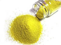Микрогранулы полиэтилена желтые, 100 грамм