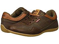 Кеды Levi's® Shoes Rio Nappa Denim Brown - Оригинал