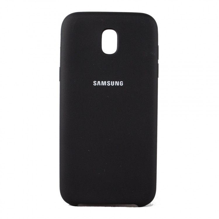 Чехол Silk Silicon для Samsung Galaxy J5 2017 J530 Black (PC-003058)