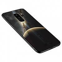 Чехол INCORE Blue Light Glass для Samsung Galaxy A8 Plus 2018 Stellar Space (PC-002385)