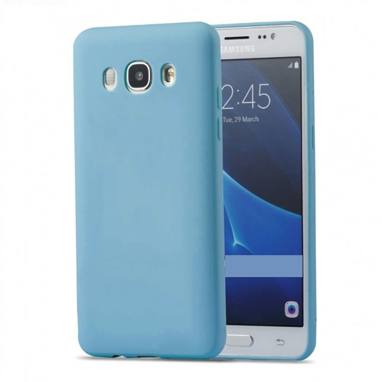 Чехол INCORE Soft TPU для Samsung Galaxy J7 2016 Light Blue (PC-002589)