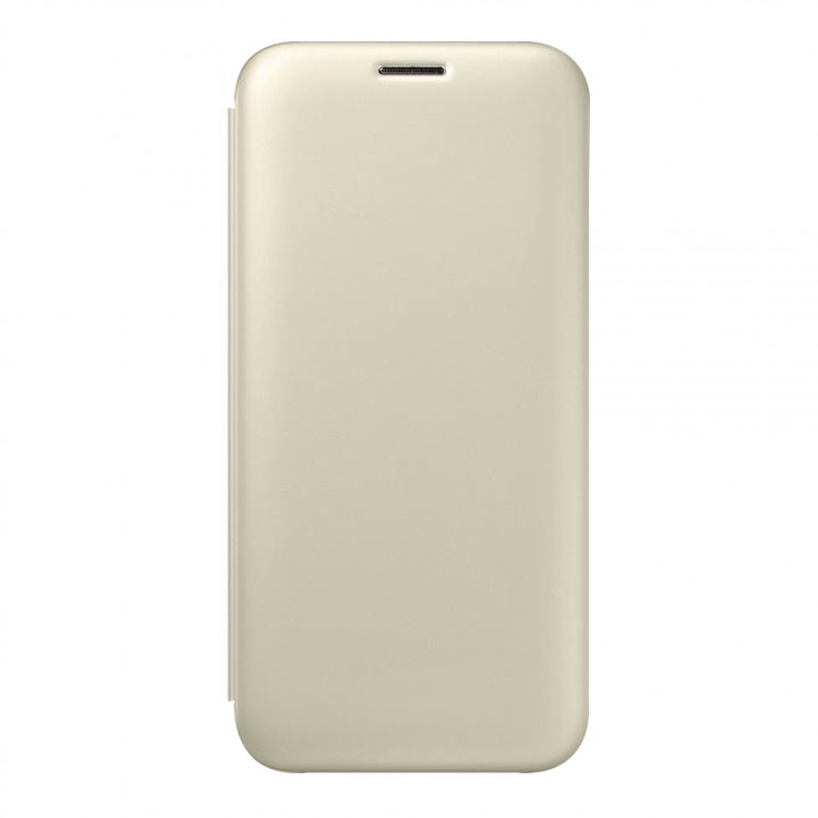 Чехол-книжка Silk Shell для Samsung Galaxy J2 2018/J250 Gold (PC-002742)