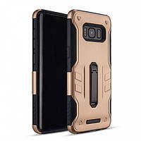 Накладка Hard Case vs Metal Kickstand для Samsung Galaxy S8 Plus G955 Золотая (PC-001296)