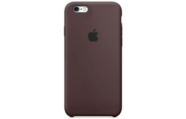 Чехол iPhone 6/6S Silicone Case Cocoa (IGS66SCC2)