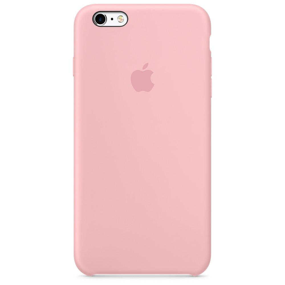 Чехол iPhone 6/6S PLus Silicone Case Pink (IGS66SPPI1)