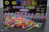 Набор резинок Loom Bands Colorful для плетения, 600 шт.