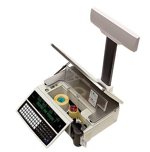 Весы с чекопечатью Digi SM-100/Digi SM-100 Plus (со стойкой)