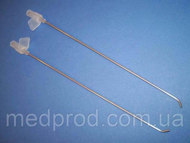 Игла канюля для промывания лакун миндалин G-17, стерильная