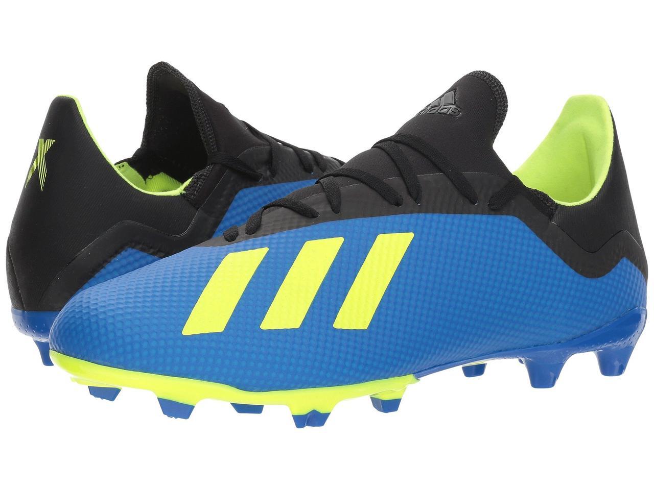7f5a4f6c8b8ebb Бутсы adidas X 18.3 FG Blue - Оригинал - FAIR - оригинальная одежда и обувь  в