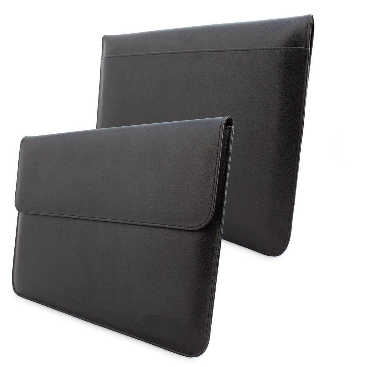 Чехол Grand Эко-кожа для Macbook air.pro 13 черный (AL542)