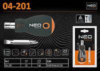 Отвёртка универсальная PH2 х 6,0мм., NEO 04-201