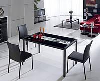 Обеденный стол из стекла BA-RS-192b 1100*650*760
