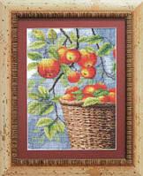 Набор для вышивки «Яблоки в корзине»