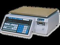 Весы с печатью этикеток Digi SM-500 В (без стойки)