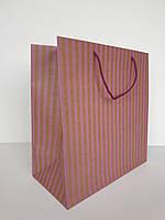 Пакет сервиз в размере 29*29*14.5 бумага крафт