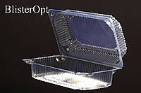 Контейнер одноразовый, пластиковая упаковка для гарячего, 100 шт