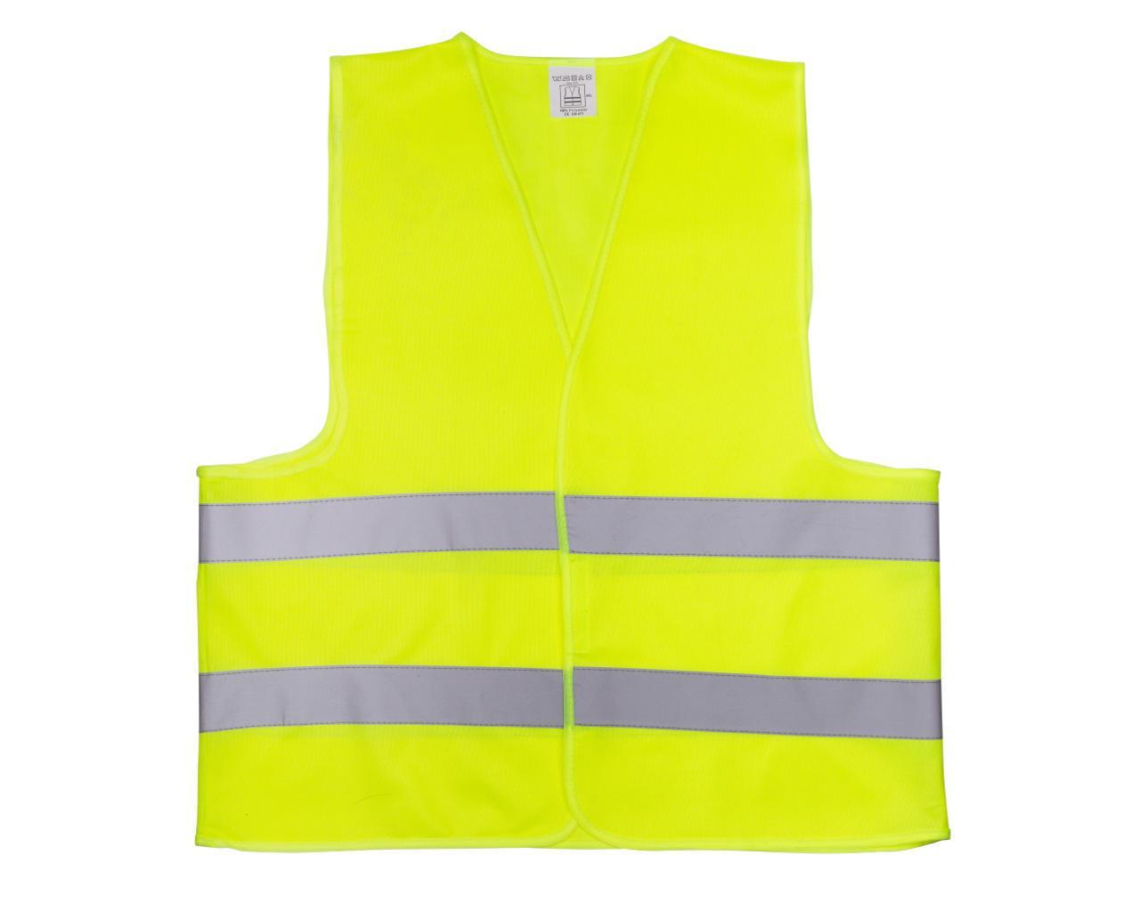 Жилет со светоотр. лентой Китай (цвет лимон) состав polyester 100% размер 4ХL плотность ткани 120г/м2