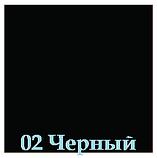 Опора для столу з круглим підставою Tempo 11.183.18.02 чорне підстава, хромована опора, фото 6