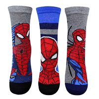 Детские носки для мальчиков Spider-Man ,23/26,27/30,31/34 pp. {есть:23/26,27/30}