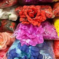 Искусственные цветы роз, фото 1