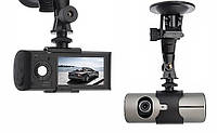 Автомобильный Видеорегистратор DVRX3000AV Full HD 2 камеры G-сенсор многофункциональный регистратор
