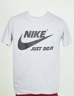 Футболка мужская Nike серая