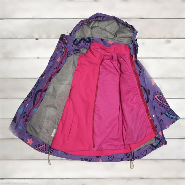 Термо куртка демисезонная для девочки