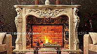 Мраморный портал камина Sesto