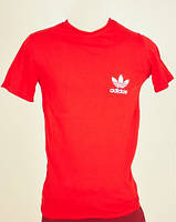 Красная футболка Adidas