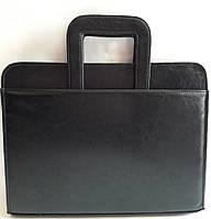 Папка деловая с выдвижными ручками 7111 Black
