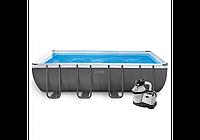 Intex 26356, каркасный бассейн Ultra Frame Pool, фото 1