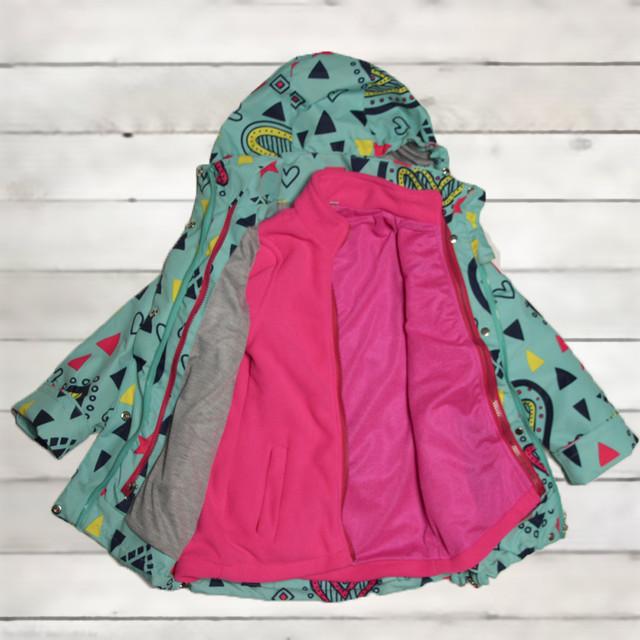 куртка термо весна для девочки