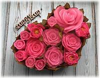 "Набор мыла ""Сердца роз"""