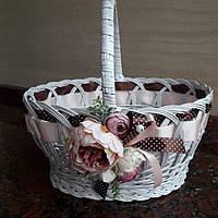 Пасхальный корзина из цветами