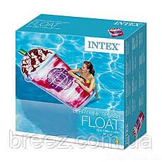 Пляжный надувной матрас плот Intex «Ягодный коктейль» 198 х 107 см , фото 3