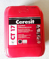 Глубокопроникающая грунтовка Ceresit CT17 (Церезит СТ17) канистра 10 л., фото 1