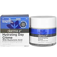 Дневной крем с гиалуроновой кислотой Derma E  56 грамм
